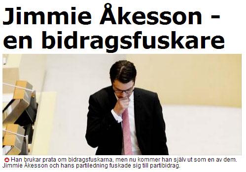 Jimmie-Åkesson-bidragsfuskare